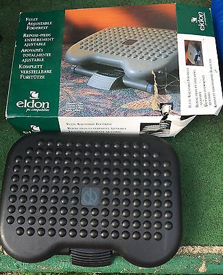 Eldon, Full Adjustable Footrest, New In Open Box, Black