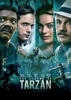 3 CENT DVD - The Legend of Tarzan . . . *FREE Shipping on any 4 DVDs*