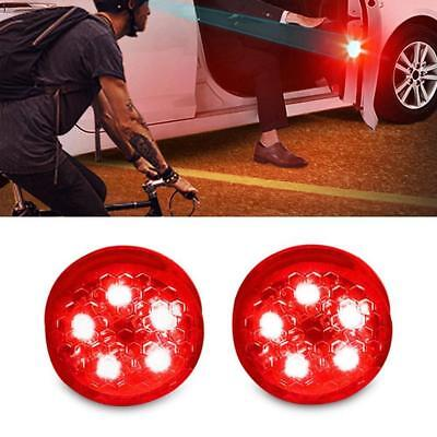 4Pcs Car Wireless LED Door Open Warning Anti Collid Signal Safety Flash Light