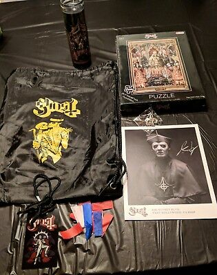Ghost B.C. Band 'A Pale Black Package' VIP merch- Bonus Mummy Dust+ 16 PICTURES