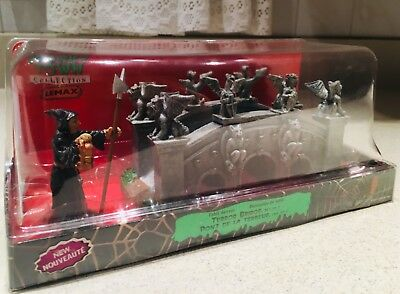 New Lemax Spooky Town Collection  Terror Bridge w/Witch Halloween Village