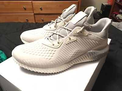 quality design 95f2e 5b19b MENS SIZE 10 Adidas x Reigning Champ Alphabounce 1 White Grey Beige Sand  CG5328