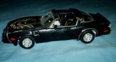 Vintge built toy plastic model car junkyard  1977 Pontiac Trans Am Smokey Bandit