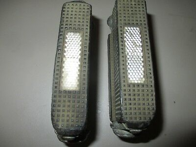 Schwinn Clear Reflector Pedals Krate Stingray Fastback Grey Ghost