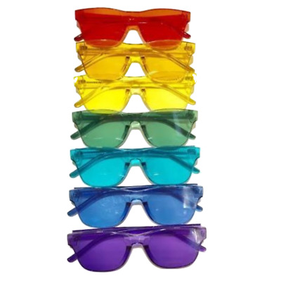c795db273f558 MEDIUM FITS OVER Indigo Color Therapy Glasses Poker Sunglasses Mens Womens.   19.95 Buy It Now 9d 18h. See Details. Versful Color Therapy Glasses Charka  Mood ...