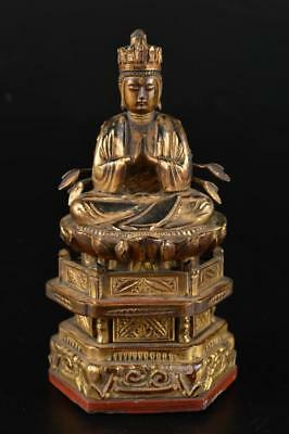 G1925:Japanese Wood carving Thousand hands GUANYIN BUDDHIST STATUE Kannon