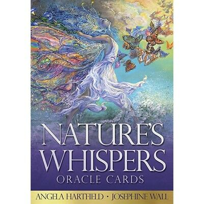 Nature's Whispers Oracle Cards by Angela Hartfield & Josephine Wall- Brand New