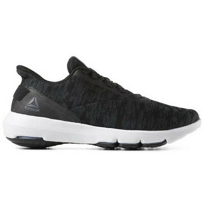 9bc15f2f15b6 Reebok CN6085 Men Cloud Ride DMX 4.0 Walking Shoes black white grey sneakers