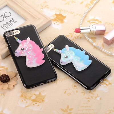 For Alcatel 5 3C 3X 3V 3 1C 1X New 3D Cartoon Quicksand Soft Silicone Phone Case