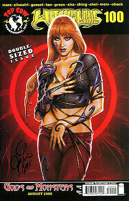 Witchblade #100 Variant Edition Signed By Artist Joseph Michael Linsner