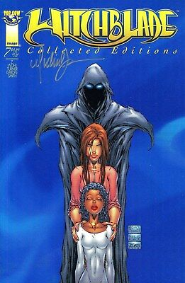 Witchblade Collected Edition #7 Signed By Artist Michael Turner