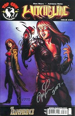 Witchblade #103 Signed By Artist Joseph Michael Linsner