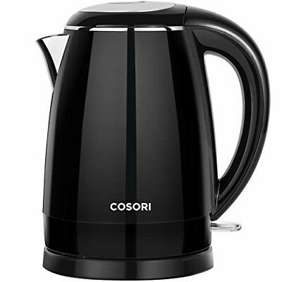 Cosori Electric Kettle(BPA Free), 1.8 Qt Double Wall 304 Stainless Steel Water B