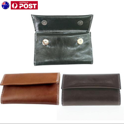 PU Tobacco Leather Pouch Tabacco Pocket Pouch/ Rizla Bag Holder Storage Case