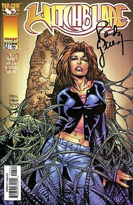 Witchblade #27 Signed By Artist Randy Green