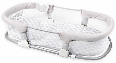 SwaddleMe Deluxe By Your Side Sleeper in Grey