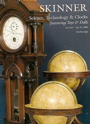 FIVE POST AUCTION CATALOGS ///  Science Instruments+Music+Military+Toys