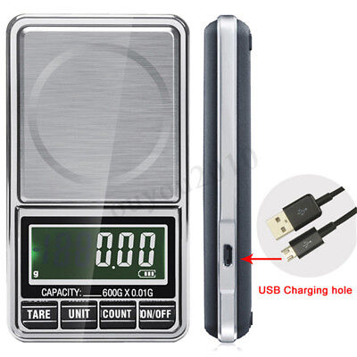 0.01g 600g Electronic LCD Jewelry Scale Gold Gram Balance Digital Pocket