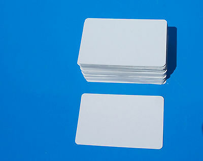 BLANK White CARDS ideal for crafts,home made games,sight/learning,flashcards