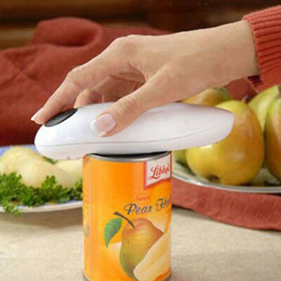 Fashion Electric Automatic Cordless Hands Free Can Jar Tin Opener Open Tool New