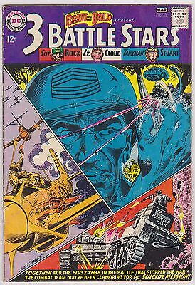 Brave and the Bold #52 Featuring Sgt Rock, Lt. Cloud & Stuart, VG - Fine Cond