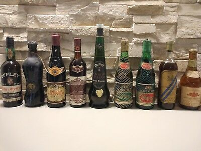 [Perfect conditions] Italian, Spanish and French Vintage Wines ('60s and '70s)