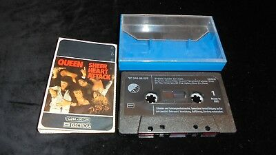Queen – Sheer Heart Attack EMI 1974 Tape Cassette TESTED *buy 3 pay cheapest 1