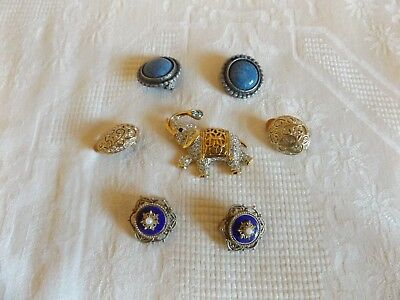 Joblot job lot of mixed vintage and modern costume jewellery