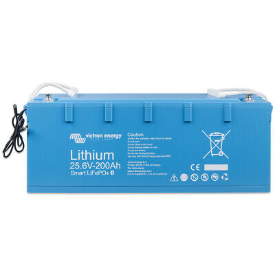 Victron LiFePO4 Akku 25,6/200 Smart Batterie 25,6V 200Ah 5120Wh Lithiumbatterie