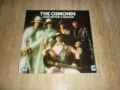 The Osmonds, Donny Osmond, Love Me For A Reason, 1974 MGM LP 2315-312,   EX/EX
