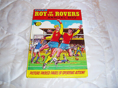 Tiger annual/book of Roy of the Rovers 1973