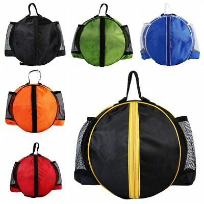 Men Sports Oval Backpack Fit Basketball Volleyball Football Carry Storage Bags