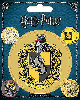 Harry Potter - Hufflepuff - Stickerset Set 5 Sticker Aufkleber - ca. 10x12,5 cm