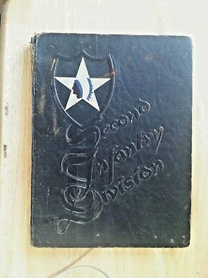 1946  Second Infantry Division  World War 11 - Combat History Book - 202 Pages