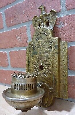Old EAGLE STARS Wall Lamp Light Sconce nicely detailed decorative arts lite