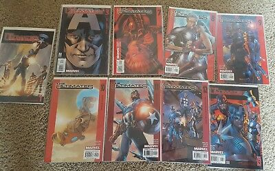 The Ultimates Comic Book Lot #1 #3 #7-#13 (Mar 2002, Marvel)