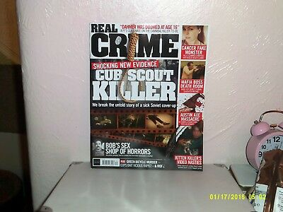 Real Crime magazine # 034 CUB SCOUT KILLER BOBS SEX SHOP OF HORRORS