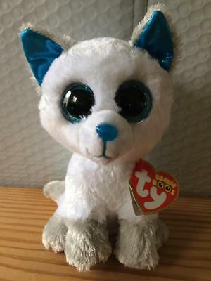 "Ty Beanie Boo Boos FROST the Arctic Fox 6"" MWMT 2017 Walgreen's Exclusive"