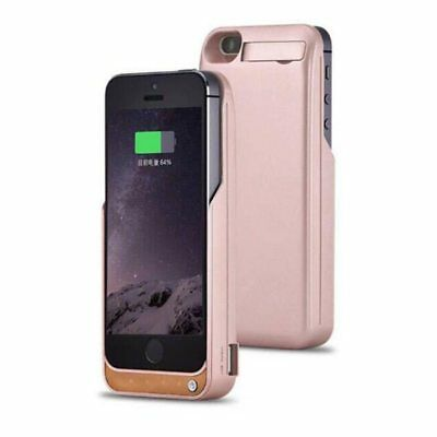 GOLDFOX For Apple iPhone 5 5s SE 4200mAh External Battery Backup Charger Case Co