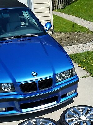 1998 BMW M3  Estoril Blue / Dove 1998 BMW M3 Manual 5spd