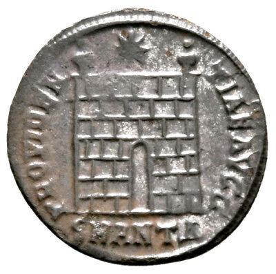 CONSTANTINE THE GREAT (329 AD) BI Follis, Antioch #IU 1137