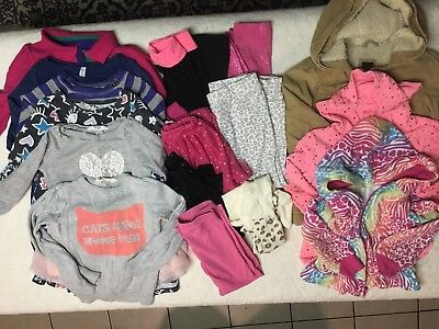 Lot of size 4 4T girls clothes dresses, tunic tops, jackets, pants