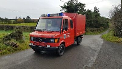 1993 Mercedes Benz 208D left hand drive Ex German Fire brigade