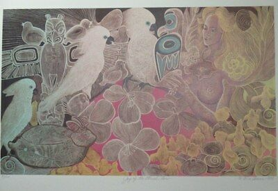 """Xmas Special! Ltd Ed Lithograph Print """"Joy of the Eternal Now"""" from Alice Asmar"""