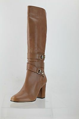 cac39279c Sam Edelman Fairbanks Brown Leather Knee High Boots Women s Shoes Size 9.5 M  NEW