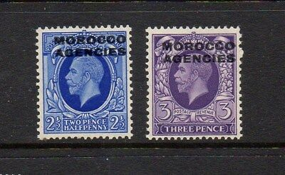 Morocco Agencies 1935 King George V British Currency Overprints Mounted Mint