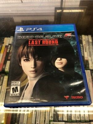 SONY Sony PlayStation 4 Game PS4 DEAD OR ALIVE 5 LAST ROUND (AJL000188)