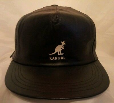 38764d4a KANGOL ITALIAN LEATHER CAP - Same Day Shipping - 5013 - $130.05 ...