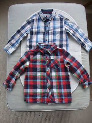 Baby Boys Checked Shirts Age 18-24 months- Frugi, Next