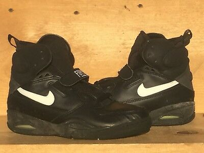 7ee0f59bb669 Vintage 1992 Nike Air Ballistic Force Leather Not Wearable Size 8.5 Read  Ad!!
